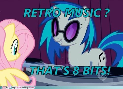 8 bit dj PON-3 fluttershy meme Music retro - 5932827136