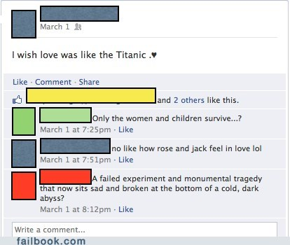 love,titanic,touché