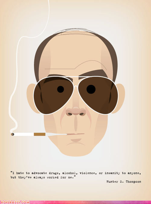 art awesome cool Hall of Fame Hunter S Thompson - 5933485568