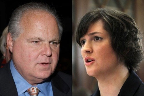Birth Control Debate,Rush Limbaugh,Sandra Fluke
