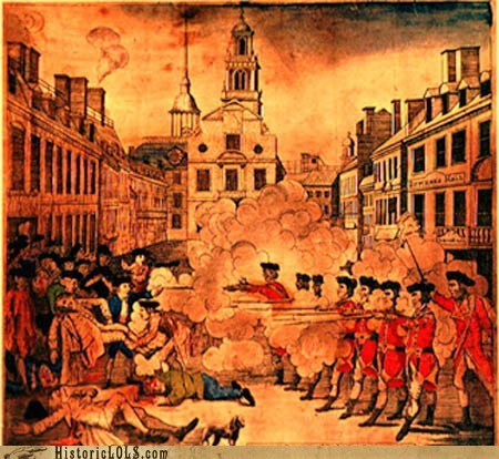 art,color,history,illustration,revolutionary war,This Day In History
