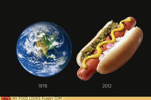 globe hot dog planet time - 5933722880