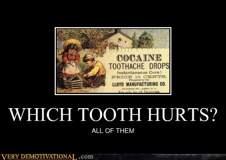 WHICH TOOTH HURTS? ALL OF THEM