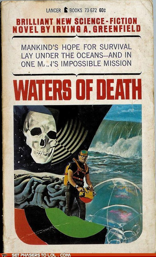 book covers,books,cover art,Death,doomed,hope,science fiction,water,wtf