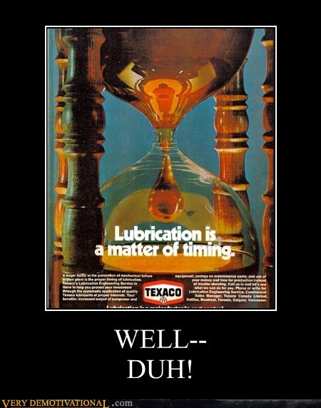advertisement hilarious lubrication timing - 5933772800