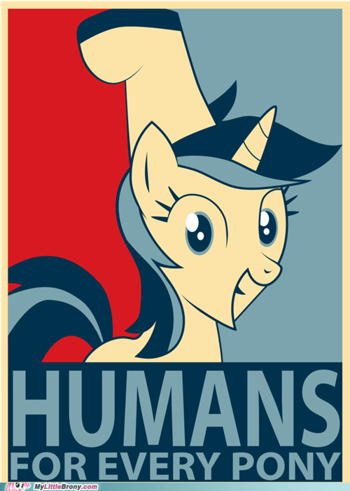 everypony hands lyra vote - 5933880576