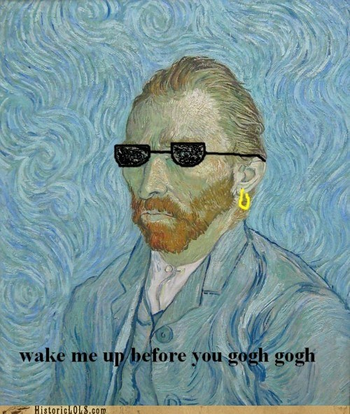 art,color,funny,historic lols,Music,shoop,Van Gogh,wham