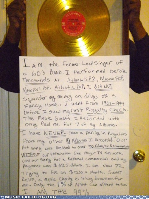 g rated Hall of Fame i-am-the i am the 99 percent Music FAILS music industry Occupy Wall Street record labels - 5933963520