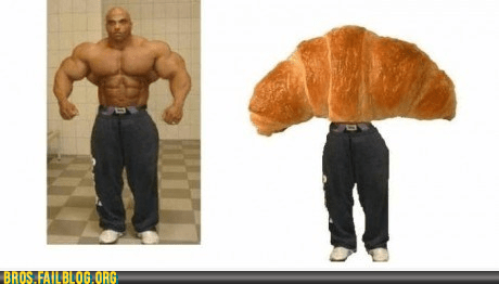 bros croissant g rated muscles steroids totally looks like - 5933971200