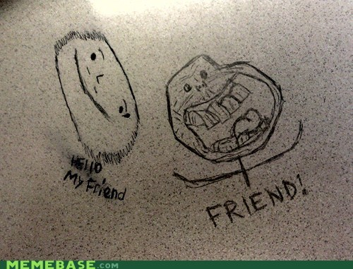 desk forever alone graffiti IRL - 5934134016
