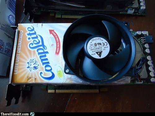 graphics card,milk carton