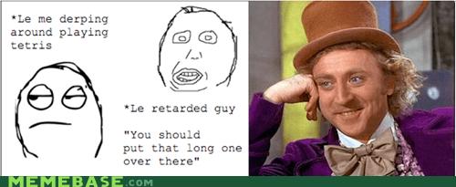 advice career Rage Comics tetris Willy Wonka - 5934290432