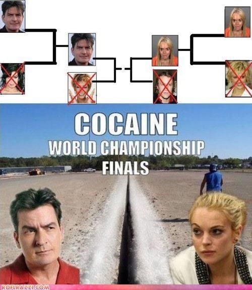 Charlie Sheen,funny,lindsay lohan,too soon