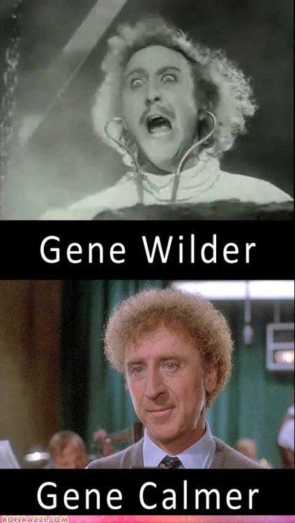 actor celeb funny gene wilder Hall of Fame name