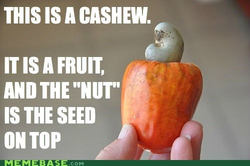 cannot unsee,cashew,delicious,fruit,nut