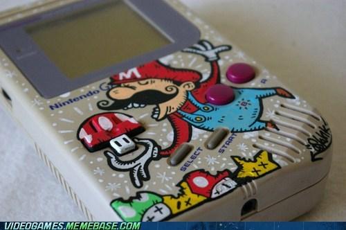 art fandom game boy gluttony mario nintendo - 5934522880