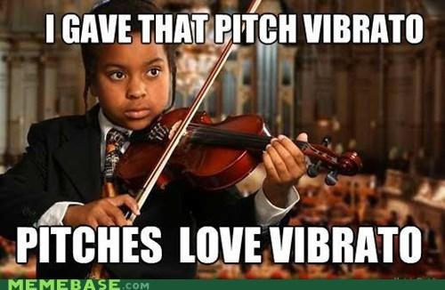Ladies Love pitch vibrato violin