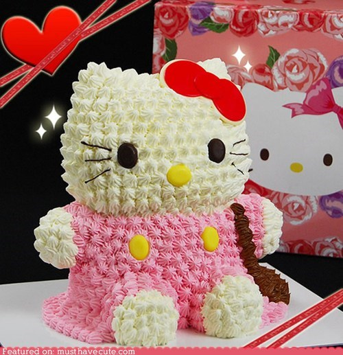 cake,epicute,frosting,hello kitty,large