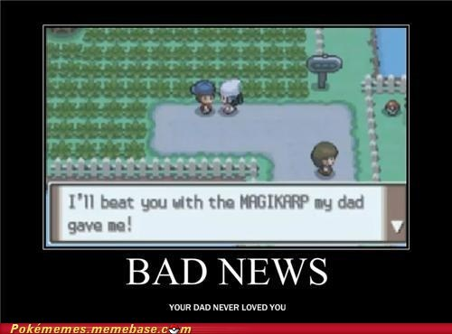 bad news,best of week,Father,gameplay,magikarp