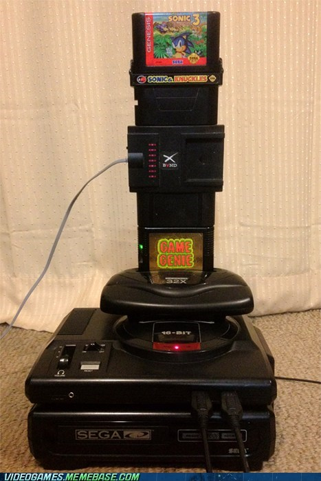 32x,consoles,sega,sega cd,stack all the games,the internets