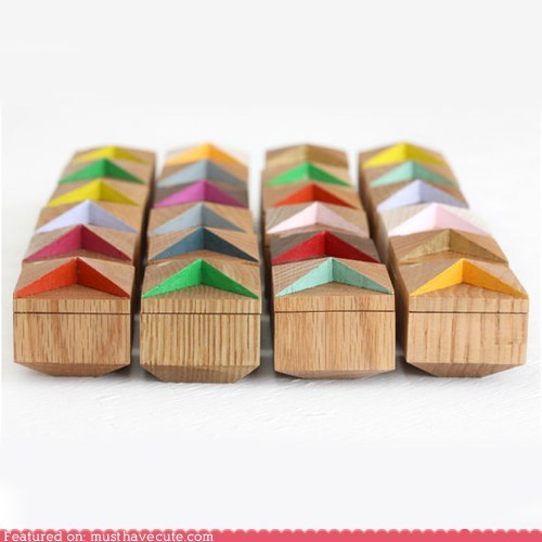 boxes containers Jewelry Painted rings wood - 5934638080