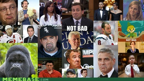 george clooney,Michael Scott,not bad,obama,Rage Comics