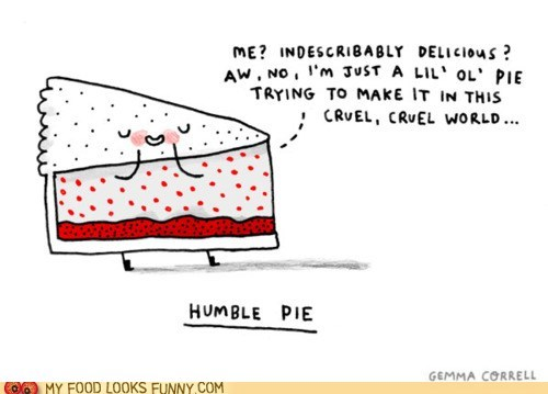 blush,drawing,humble pie,pie