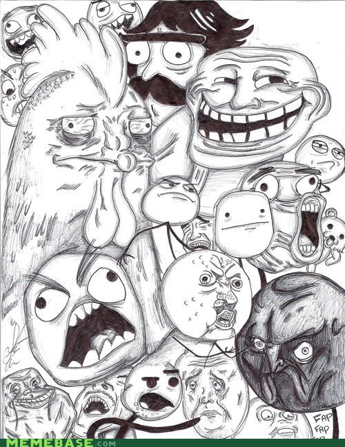 all the faces,chicken,drawing,Memes,pretty good user