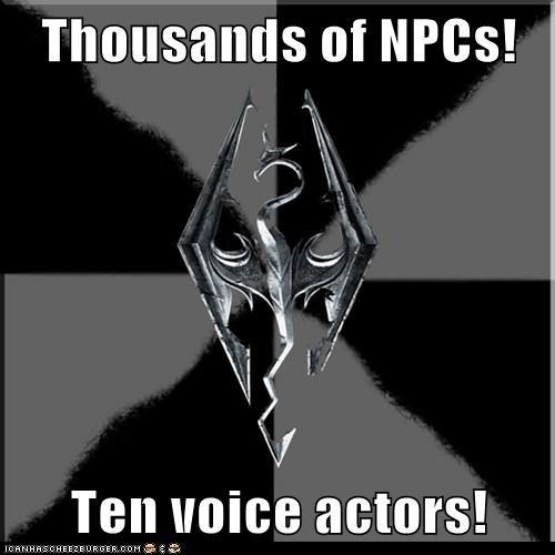 knee Memes NPCs patridge pear tree Skyrim - 5934937088