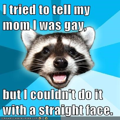 gay,Lame Pun Coon,parents,sex,straight