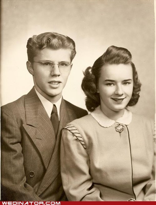'40s grandparents engagement vintage - 5935183360