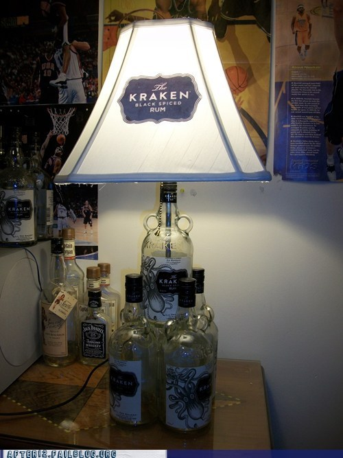 design,DIY,kraken,Rum,there I fixed it
