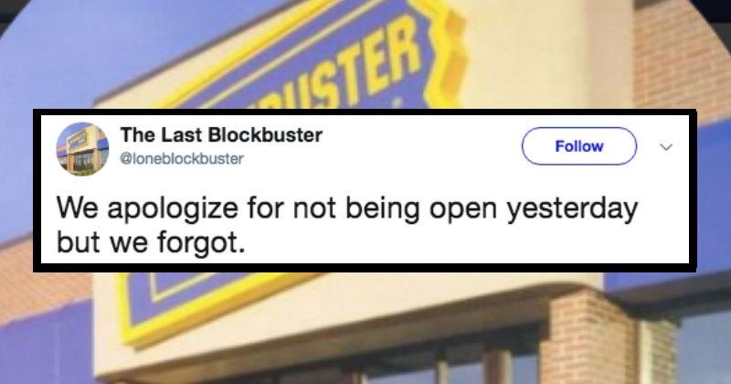 last blockbuster twitter parody account