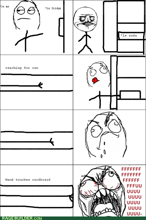fridge fu guy Rage Comics soda - 5935436544