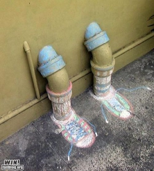 chalk clever design graffiti hacked irl shoes - 5935848448