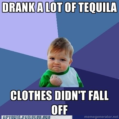 advice animal clothes meme sexy times success kid tequila - 5935876608