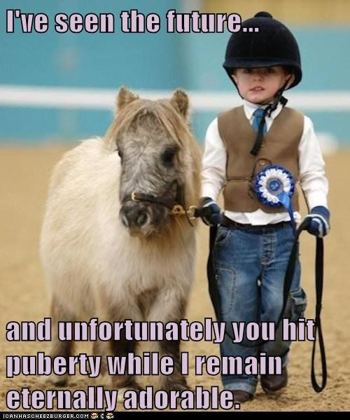 adorable children cute growing up horses kids mini horses ponies puberty - 5936361728