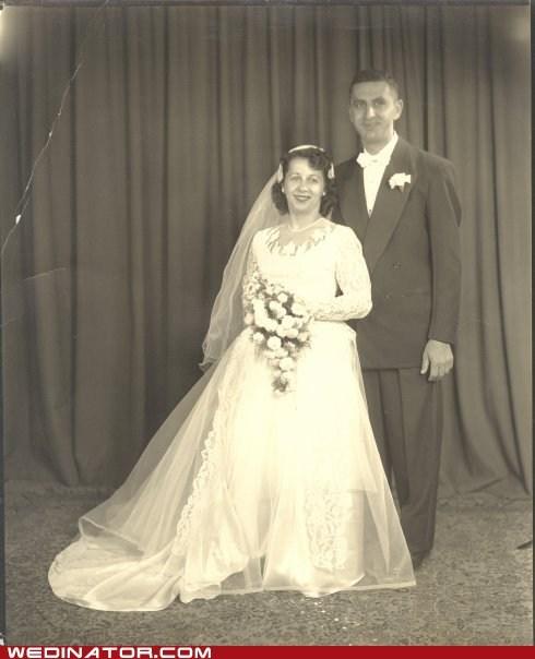 funny wedding photos retro vintage world war II - 5936698368