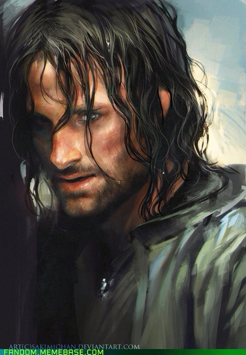 aragorn books Fan Art fantasy Lord of the Rings movies - 5936920064