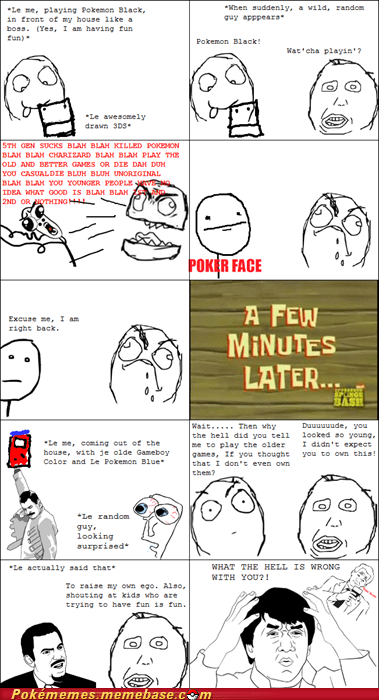 gen 2,gen 5,pokemon black,rage comic,Rage Comics,youngins