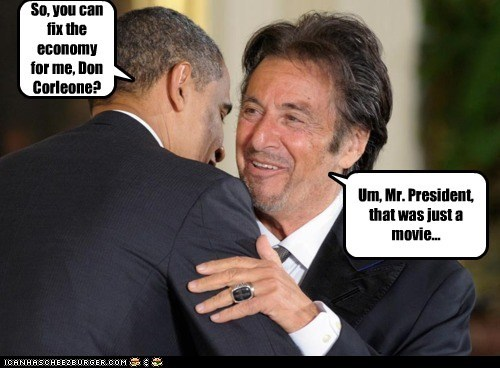al pacino barack obama political pictures - 5937743360