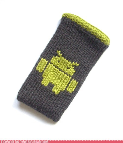 android case cell phone cozy Knitted phone sock - 5938193408