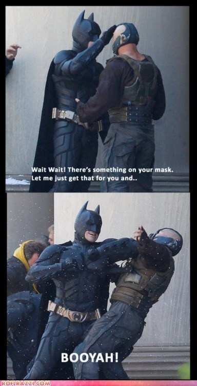 bane batman christian bale funny Movie the dark knight rises tom hardy - 5938197760