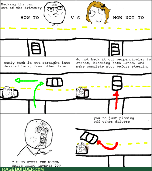 car,driving,Rage Comics,Y U No Guy