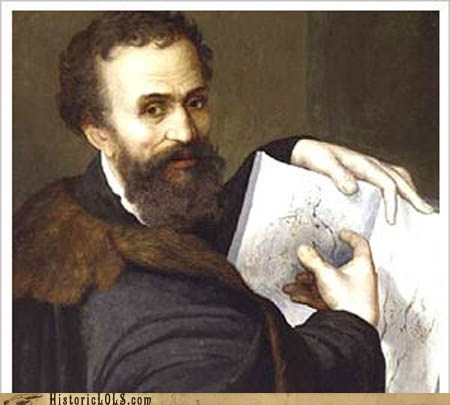 art,history,michelangelo,painting,This Day In History