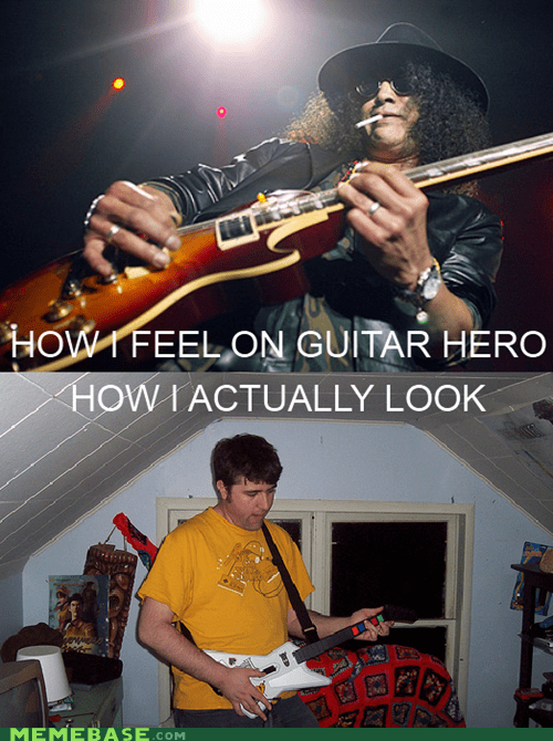 Guitar Hero Memes slash video games - 5938775808