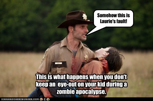 Andrew Lincoln carl grimes fault lori grimes Rick Grimes shane walsh The Walking Dead zombie apocalypse - 5938804992
