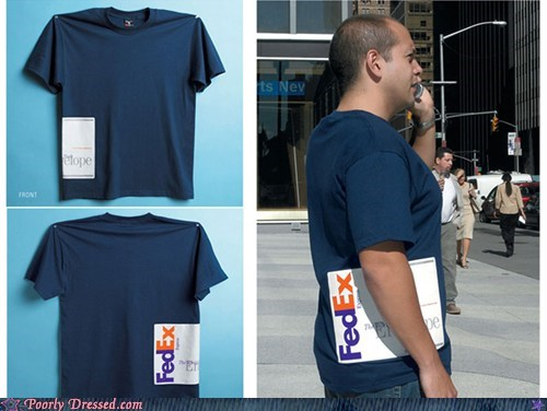 fed ex fedex Hall of Fame important mail shirt - 5938870784
