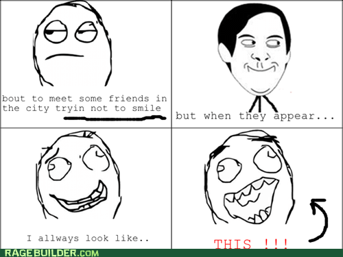 friends play it cool Rage Comics spiderpman - 5939124480