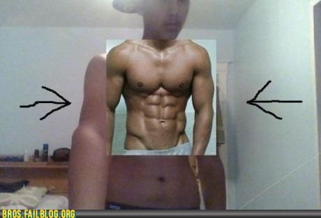 fake,muscles,photoshop,shopped